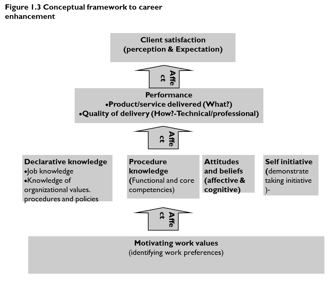 express expertise critical success factors in your career expertise conceptual framework